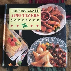 Cooking Class Appetizers Cookbook Vintage 1993